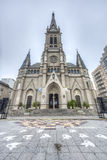 Mar del Plata's Cathedral, Buenos Aires, Argentina Stock Photography