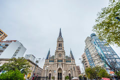 Mar del Plata`s Cathedral, Buenos Aires, Argentina Stock Photo