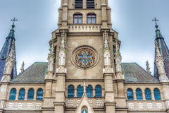 Mar del Plata`s Cathedral, Buenos Aires, Argentina Royalty Free Stock Images