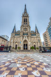 Mar del Plata's Cathedral, Buenos Aires, Argentina Royalty Free Stock Photography