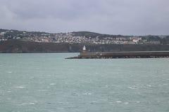 Mar del turismo de País de Gales Imagen de archivo libre de regalías