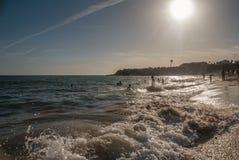 Mar del verano Fotos de archivo libres de regalías