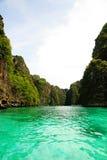 Mar desobstruído em phuket Foto de Stock