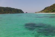 Mar despercebido de Tailândia do trang de Kohrok Imagem de Stock Royalty Free