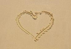 Mar do amor Fotografia de Stock