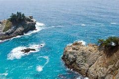 Mar do azul do Aqua imagens de stock royalty free