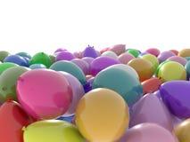 Mar do balão ilustração stock