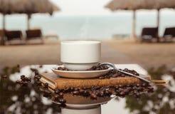 Mar do café horizontal Fotos de Stock