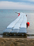 Mar do cais Foto de Stock
