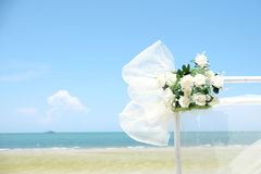 Mar do casamento Fotos de Stock