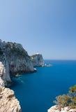 Mar do farol de Lefkada Grécia Foto de Stock Royalty Free