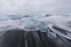Mar do gelo, Islândia Foto de Stock