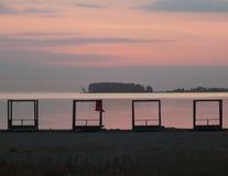 Mar do outono Fotos de Stock Royalty Free