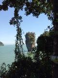 Mar do sul da cidade do krabi do curso foto de stock