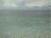 Mar dos azuis celestes em Sevastopol Imagem de Stock Royalty Free
