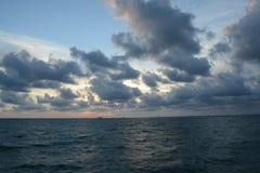 Mar dramático Fotos de archivo