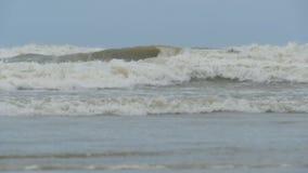 Mar durante una tormenta metrajes