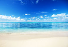 Mar e areia Imagem de Stock Royalty Free