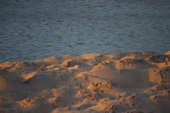 Mar e areia Fotografia de Stock