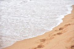 Mar e areias foto de stock