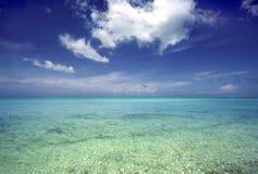 Mar e céu Imagens de Stock