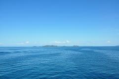 Mar e céu Fotografia de Stock