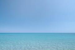 Mar e céu Imagem de Stock Royalty Free