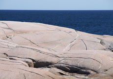 Mar e céu da rocha Imagem de Stock Royalty Free