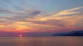 Mar e céu de Sunser filme