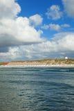 Mar e céu em Aarhus em Dinamarca Imagem de Stock