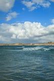 Mar e céu em Aarhus em Dinamarca Imagem de Stock Royalty Free