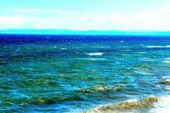 Mar e gaivota imagem de stock royalty free