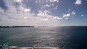 Mar e ilha video estoque