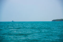 Mar e ilhas em Camboja Fotos de Stock