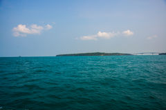 Mar e ilhas em Camboja Imagem de Stock Royalty Free