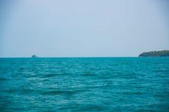 Mar e islas en Camboya Fotos de archivo