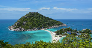 Mar e montanha fotografia de stock royalty free