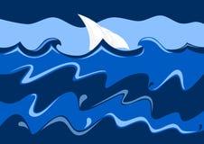 Mar e navigação Foto de Stock