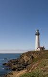 Mar e o farol Foto de Stock Royalty Free