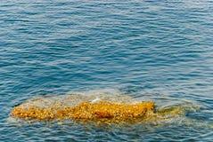 Mar e pedra Fotos de Stock