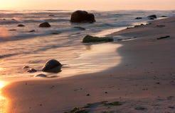Mar e pedras Fotos de Stock Royalty Free