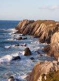 Mar e penhascos Imagem de Stock