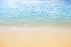 Mar e praia Imagem de Stock