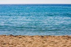 Mar e praia Foto de Stock Royalty Free