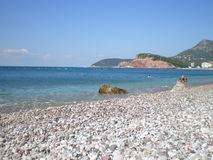 Mar e praia Foto de Stock