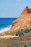 Mar e rocha foto de stock