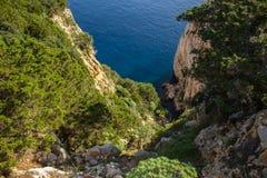 Mar e rochas Imagens de Stock