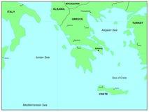 Mar Egeo Foto de archivo libre de regalías