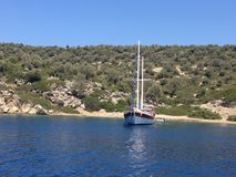 Mar Egeo Fotografia Stock