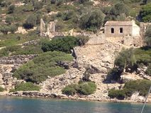 Mar Egeu imagens de stock royalty free